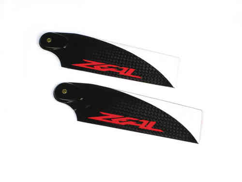 ZEAL CFK Tail Blades 62mm - N. Orange