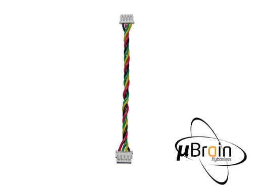 MSH Micro Brain Cable JST to Molex 50mm